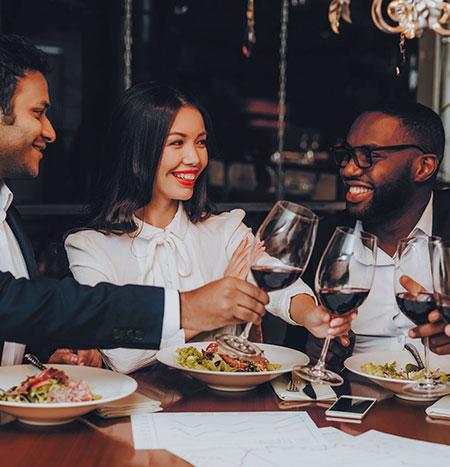 Réserver un restaurant pour un dîner d'affaires